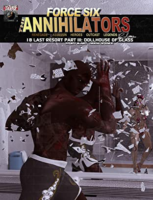 Force Six, The Annihilators 18 Last Resort Part III No.18