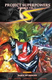 Project: Superpowers Omnibus Vol. 1: Dawn Of The Heroes