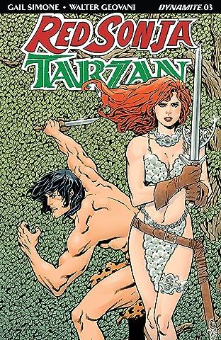 Red Sonja/Tarzan #3