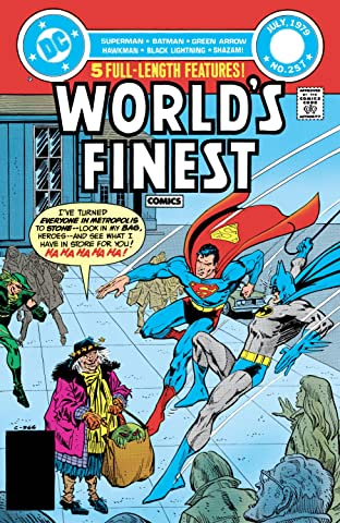 World's Finest Comics (1941-1986) #257