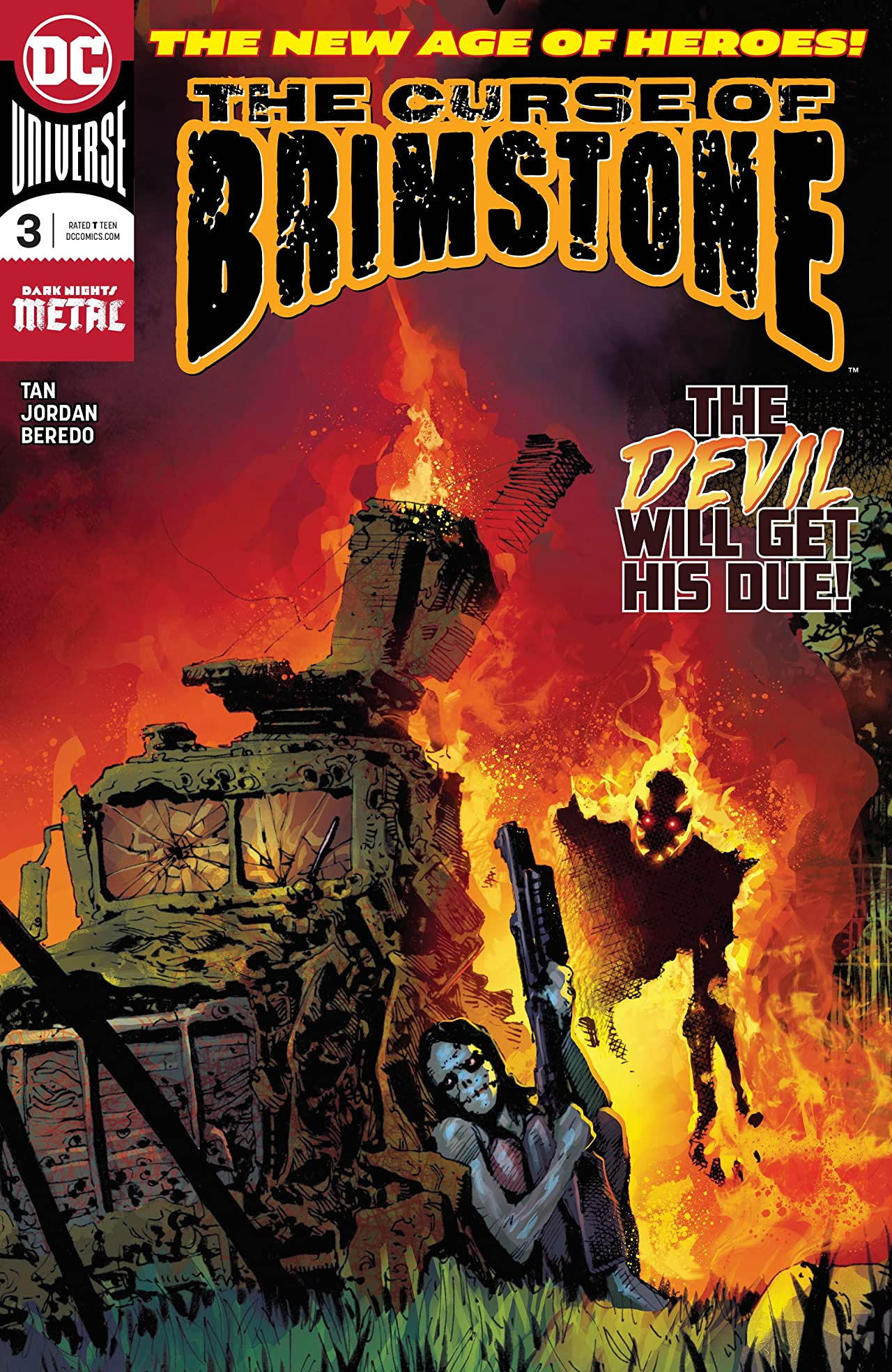 The Curse of Brimstone (2018-) No.3