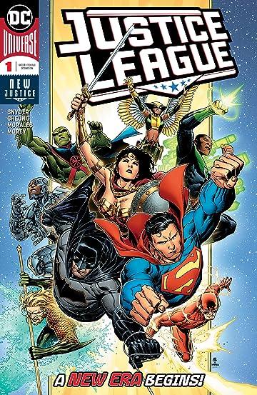 Justice League (2018-) #1