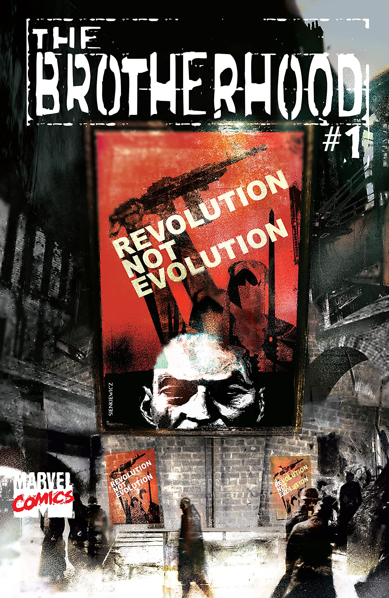The Brotherhood (2001-2002) #1