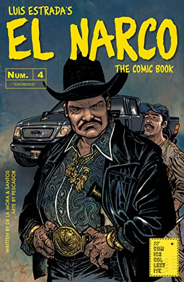 El Narco, The Comic Book #4