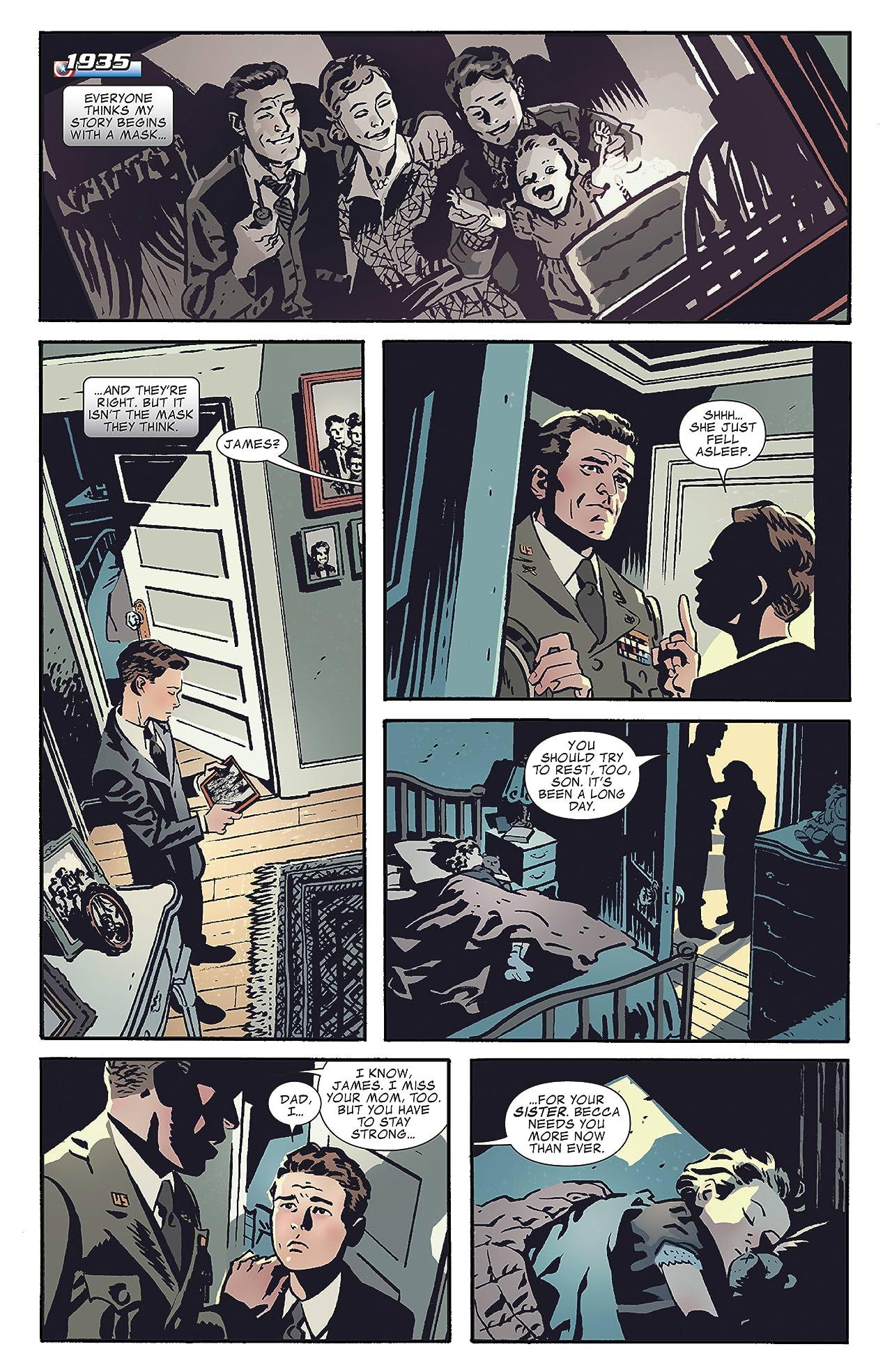 Captain America and Bucky #620