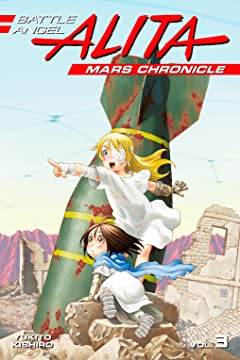 Battle Angel Alita: Mars Chronicle Tome 3