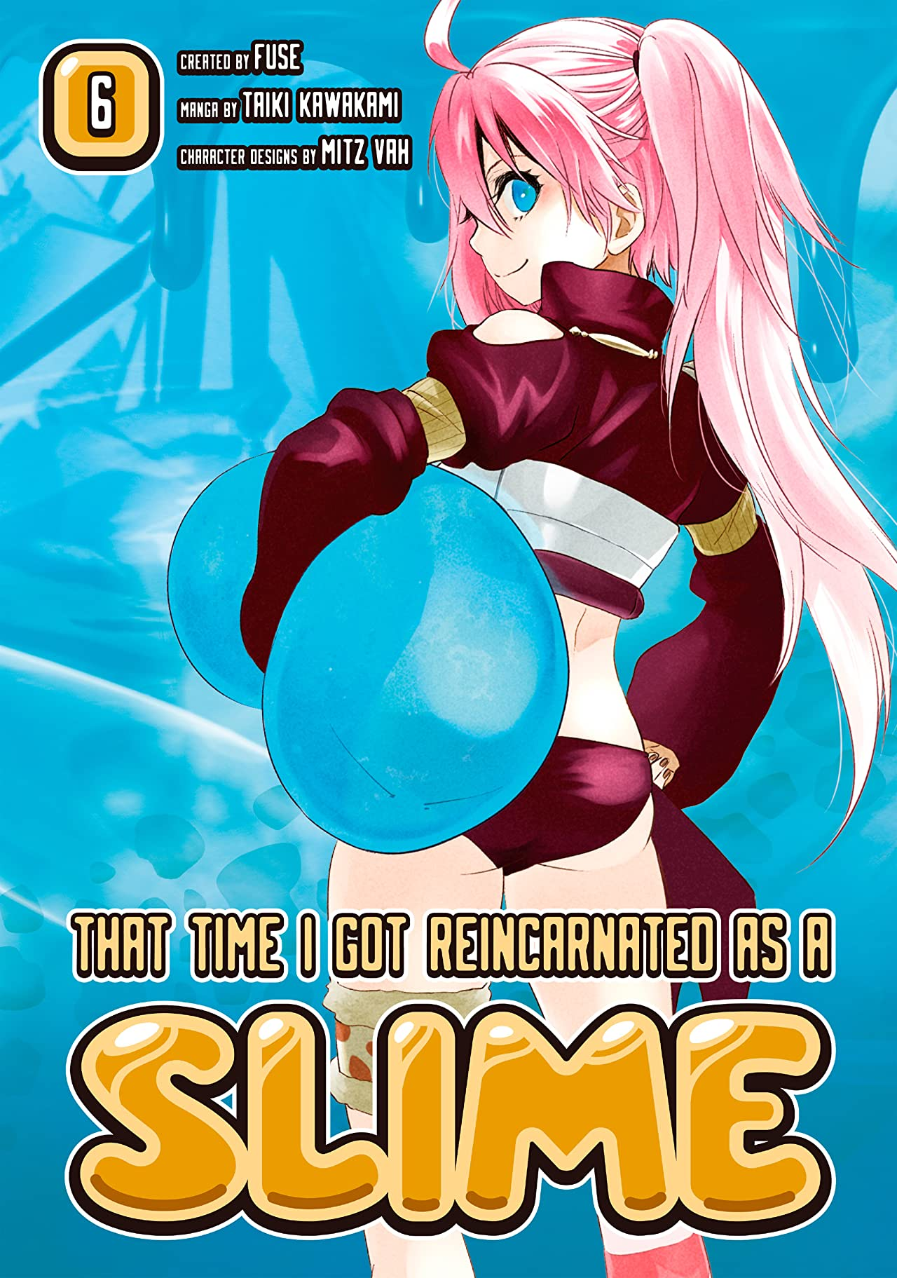 That Time I Got Reincarnated As A Slime Tome 6
