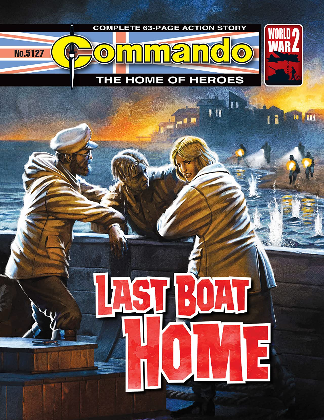 Commando #5127: Last Boat Home