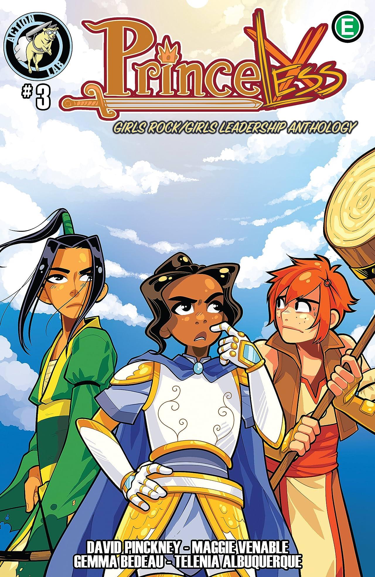 Princeless: Girls Rock/Girls Leadership Anthology #3