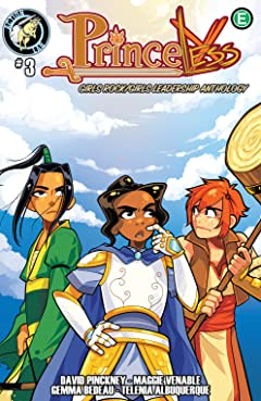 Princeless: Girls Rock/Girls Leadership Anthology No.3