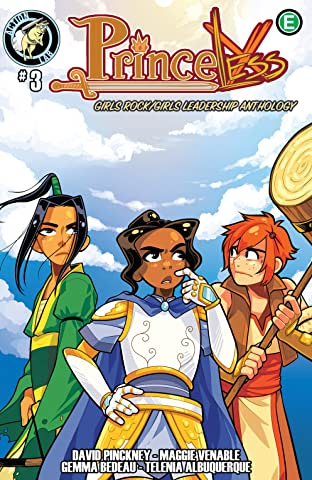 Princeless: Girls Rock/Girls Leadership Anthology #3