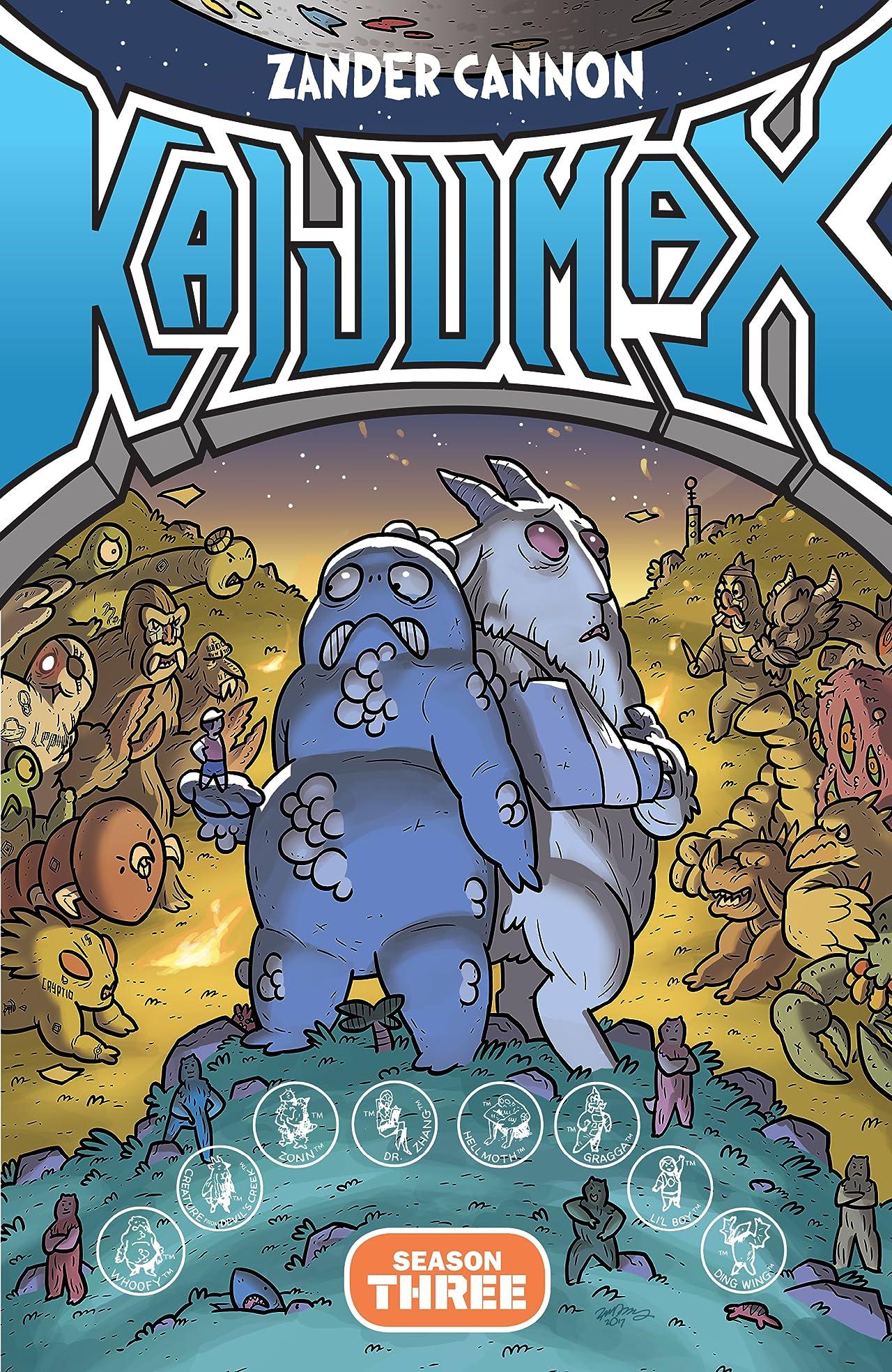 Kaijumax Vol. 3: King of the Monstas