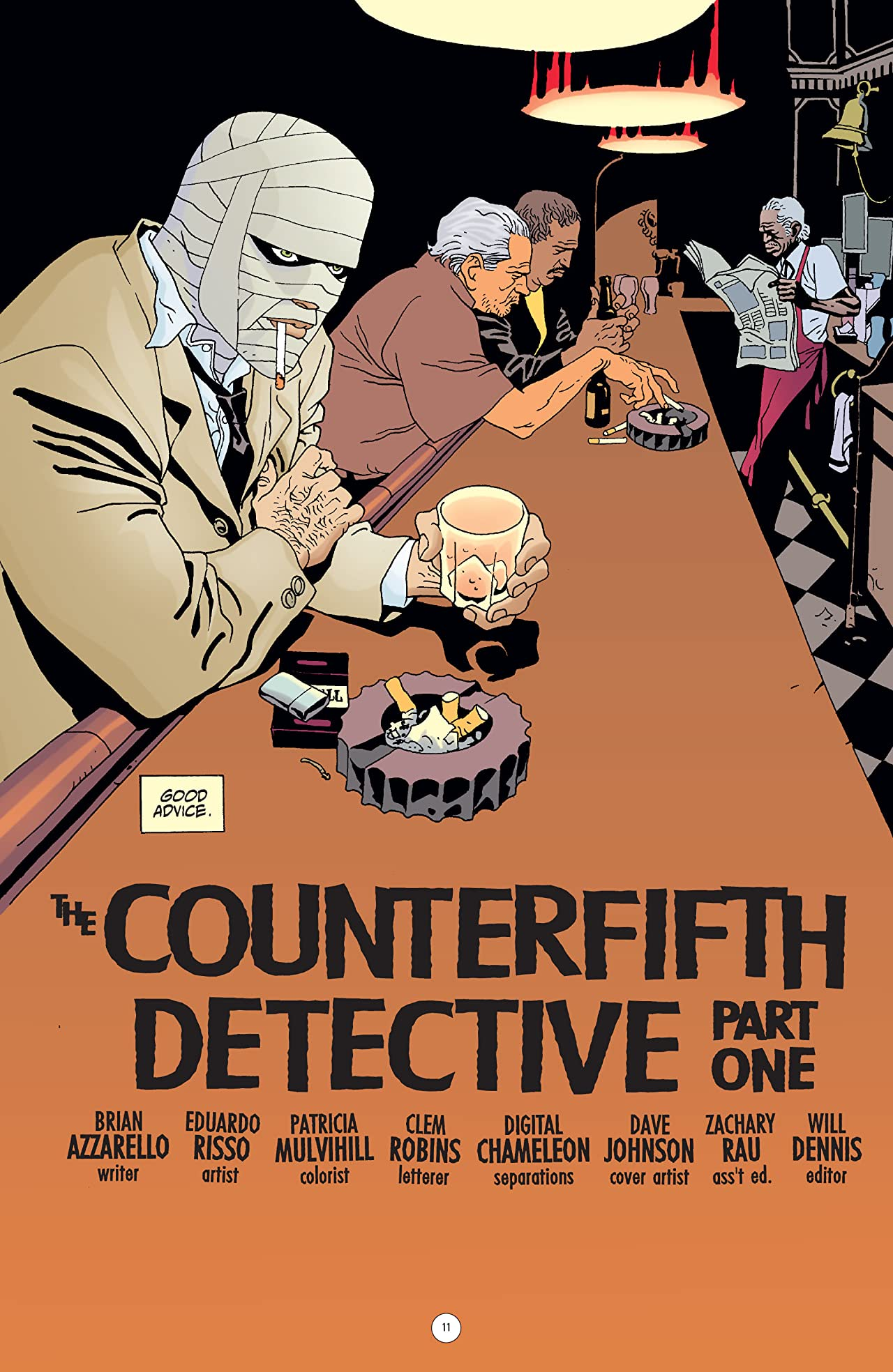 100 Bullets Vol. 5: The Counterfifth Detective