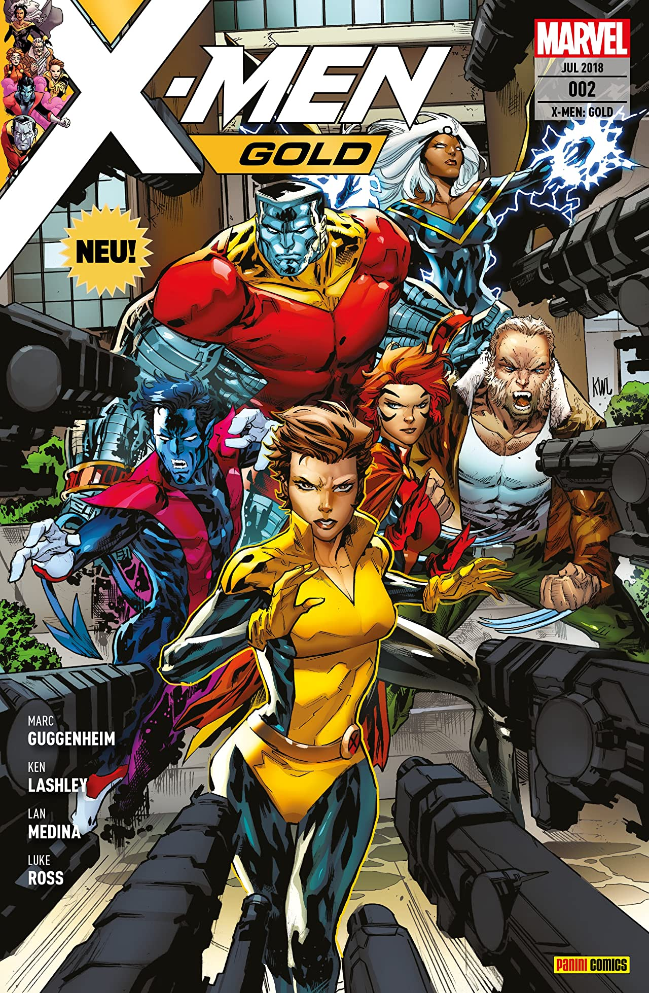 X-Men: Gold Vol. 2: In der Falle