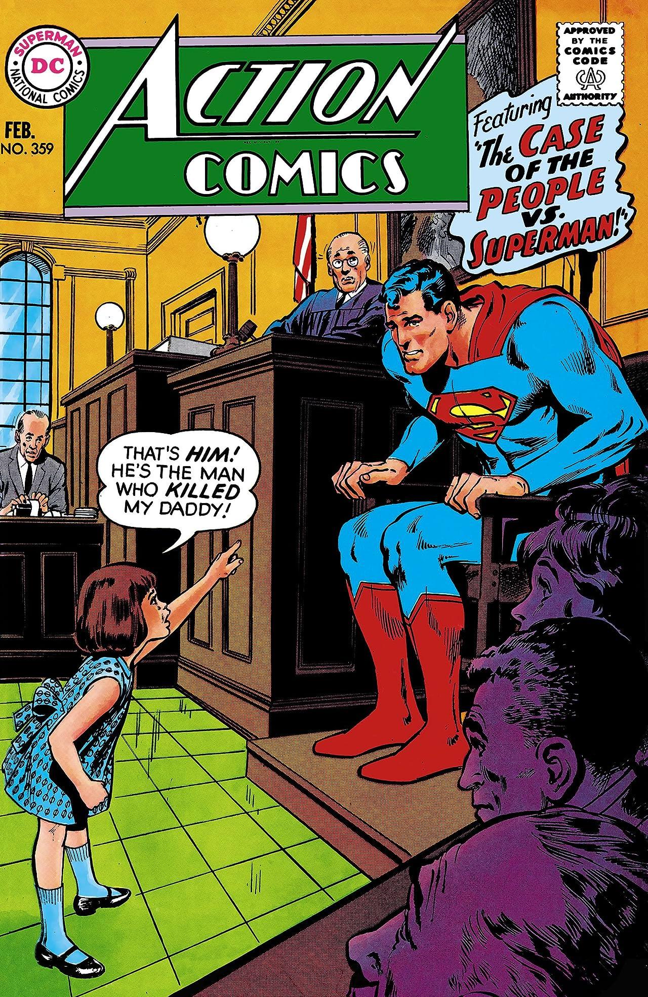 Action Comics (1938-2011) #359