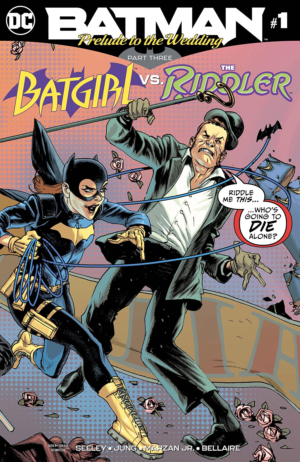 Batman: Prelude to the Wedding: Batgirl vs  Riddler (2018) #1