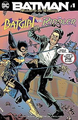 Batman: Prelude to the Wedding: Batgirl vs. Riddler (2018) No.1