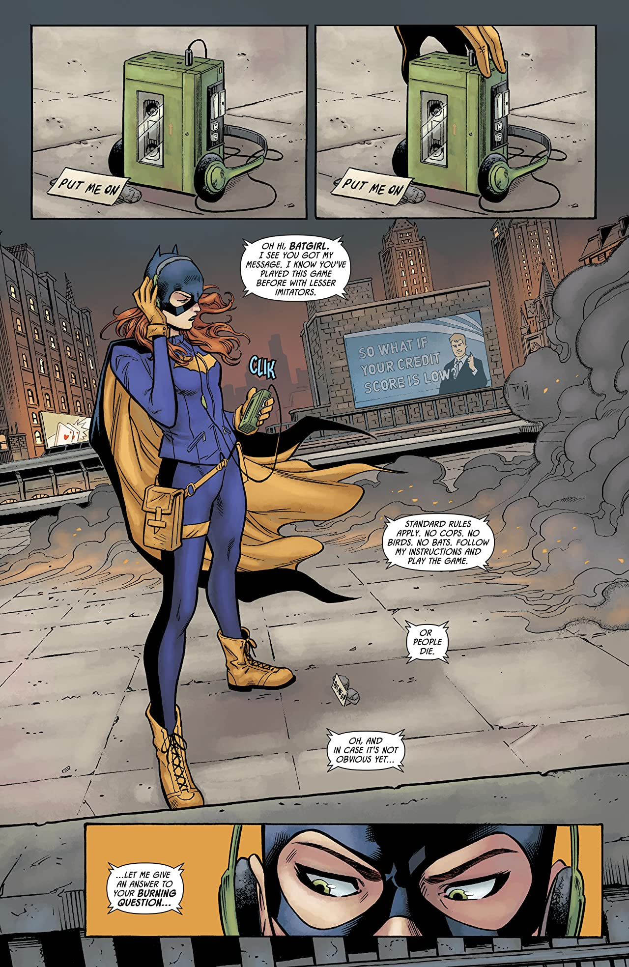 Batman: Prelude to the Wedding: Batgirl vs. Riddler (2018) #1