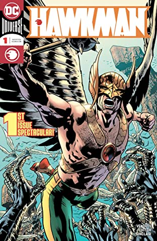Hawkman (2018-) No.1