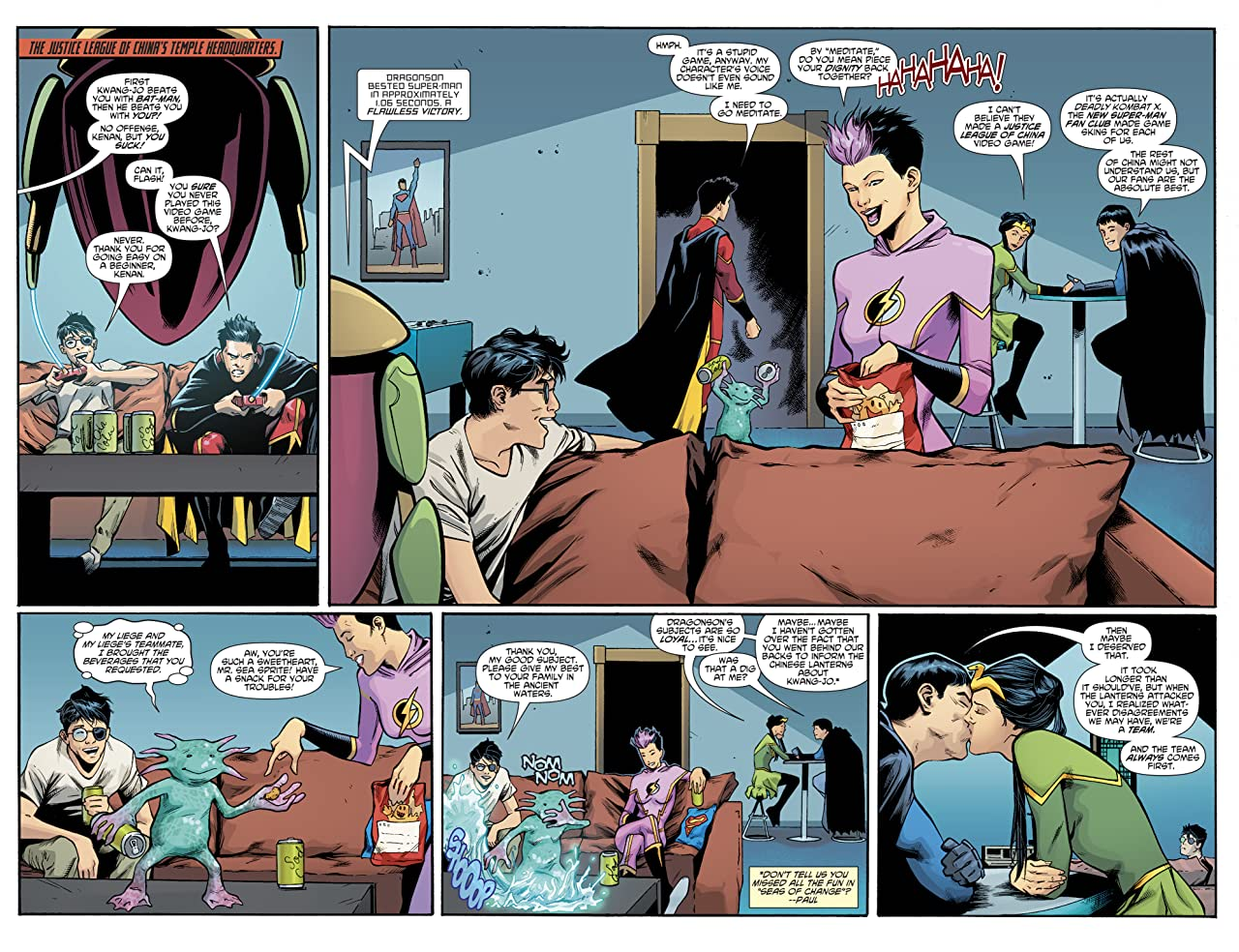 New SuperMan and the Justice League of China (2016-) #24