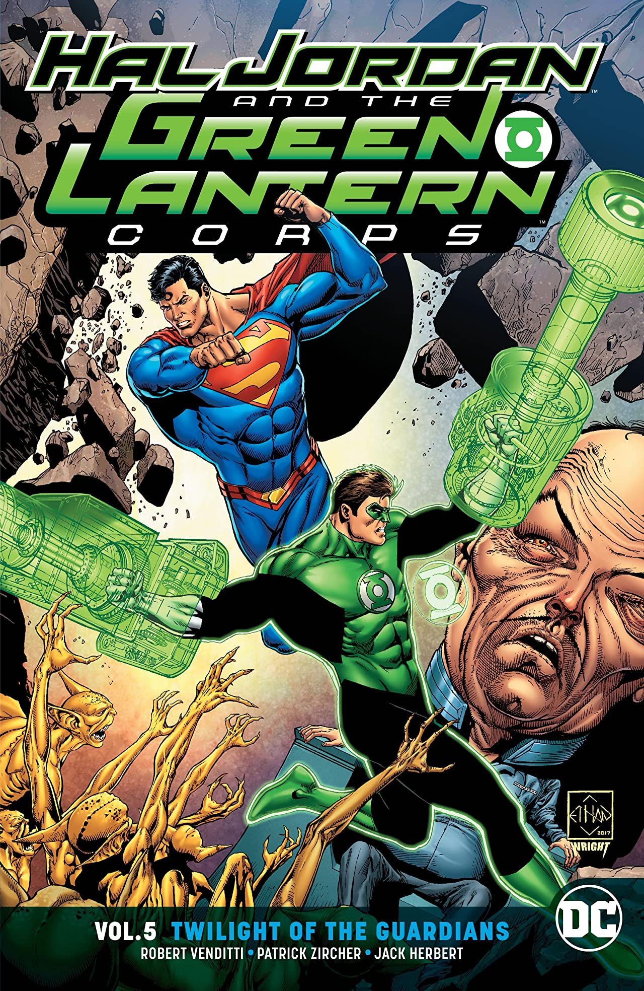 Hal Jordan and the Green Lantern Corps (2016-2018) Vol. 5: Twilight of the Guardians