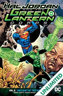 Hal Jordan and the Green Lantern Corps (2016-) Vol. 5: Twilight of the Guardians