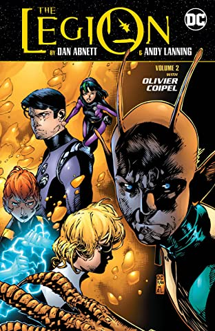 The Legion by Dan Abnett and Andy Lanning  Tome 2
