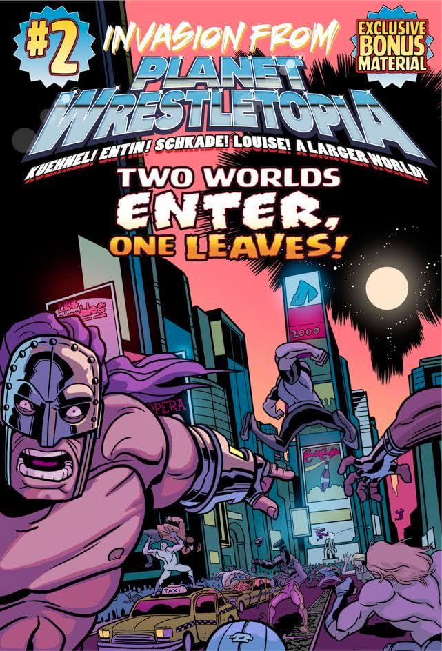 Invasion from Planet Wrestletopia #2