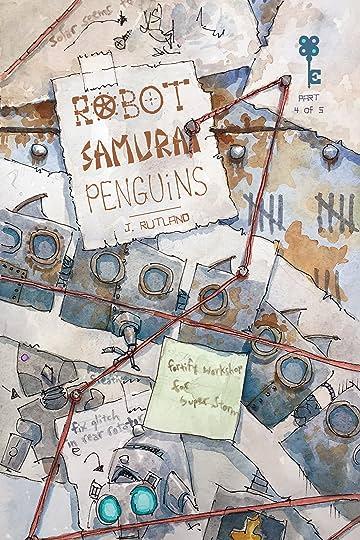 Robot Samurai Penguins No.4