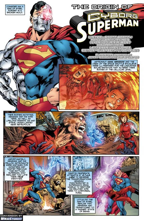 The Origin of Cyborg Superman #1