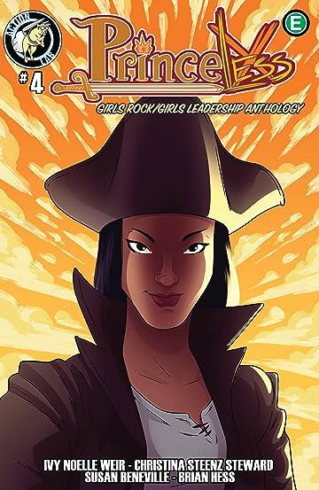 Princeless: Girls Rock/Girls Leadership Anthology #4