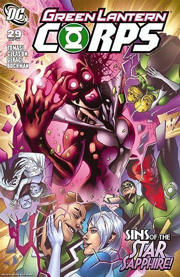 Green Lantern Corps (2006-2011) #29
