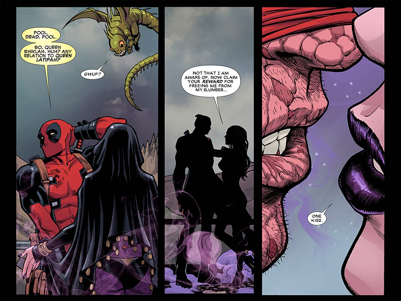Deadpool: The Gauntlet Infinite Comic #4