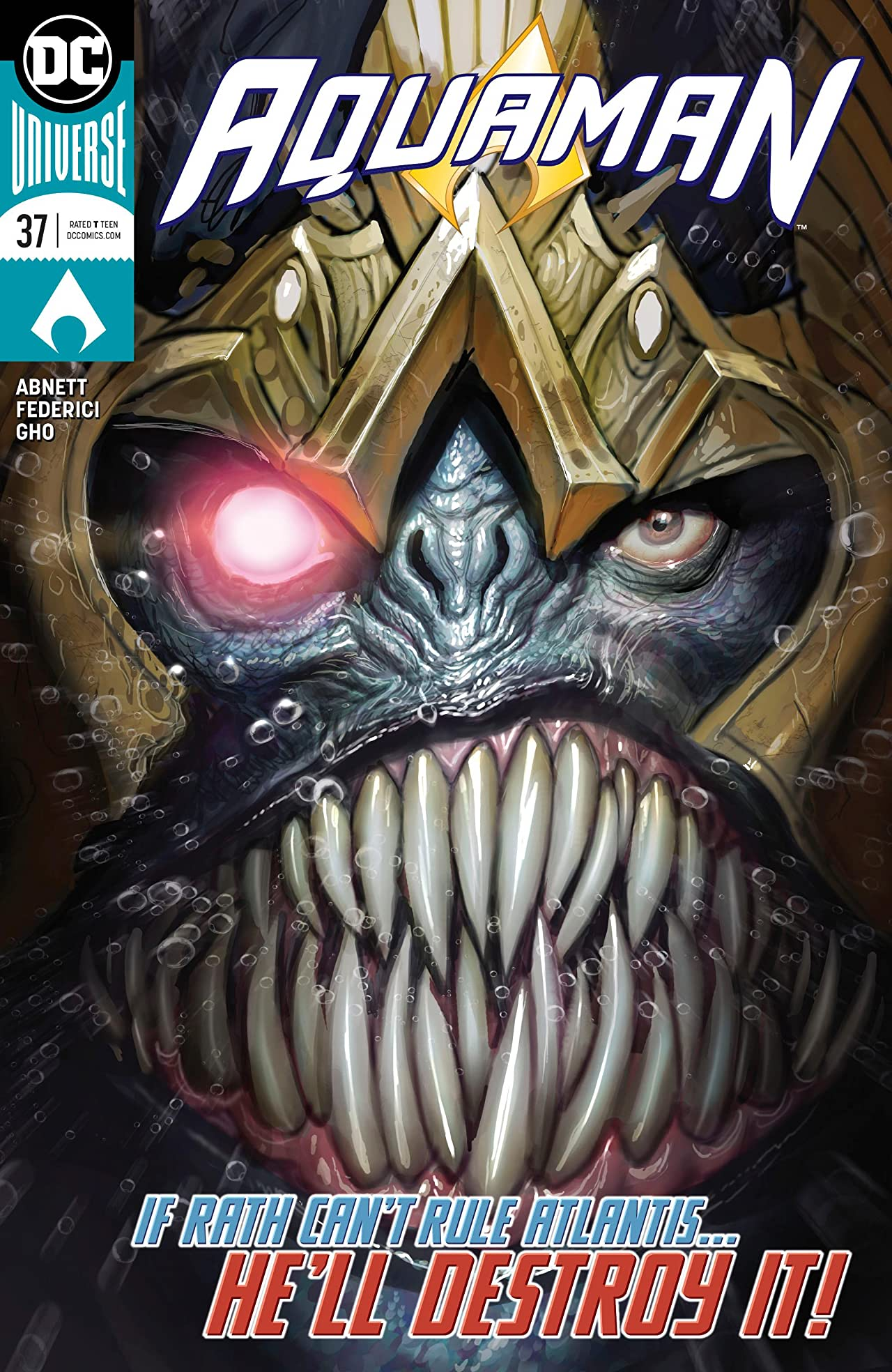 Aquaman (2016-) No.37