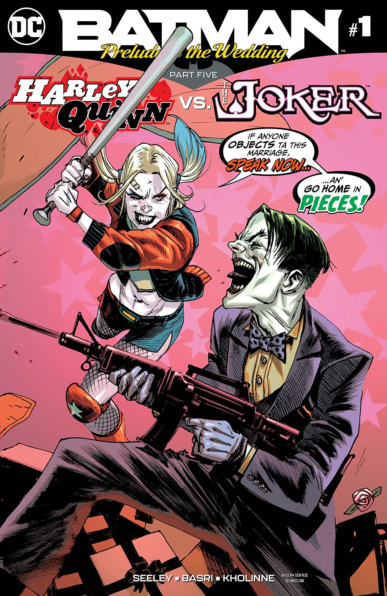 Batman: Prelude to the Wedding: Harley Quinn vs. Joker (2018-) #1