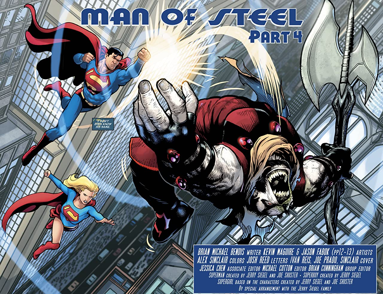 Man of Steel (2018) No.4