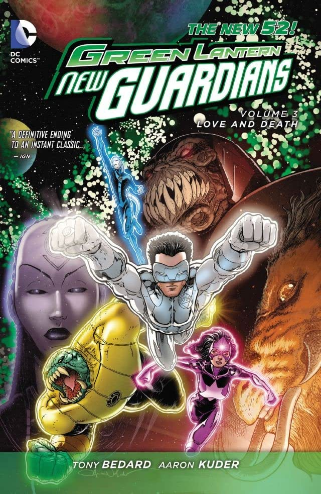 Green Lantern: New Guardians (2011-2015) Vol. 3: Love & Death