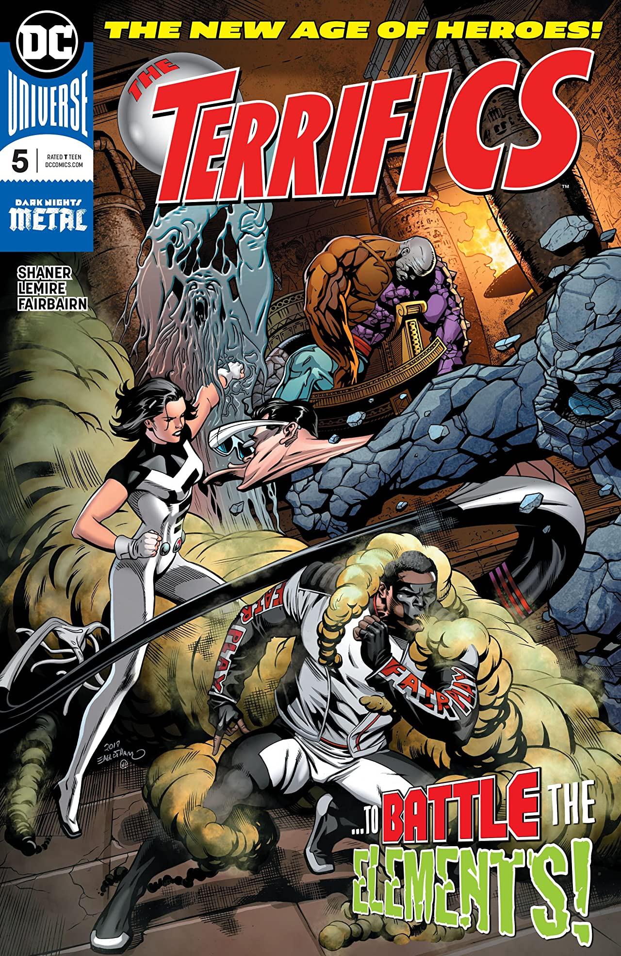 The Terrifics (2018-) No.5