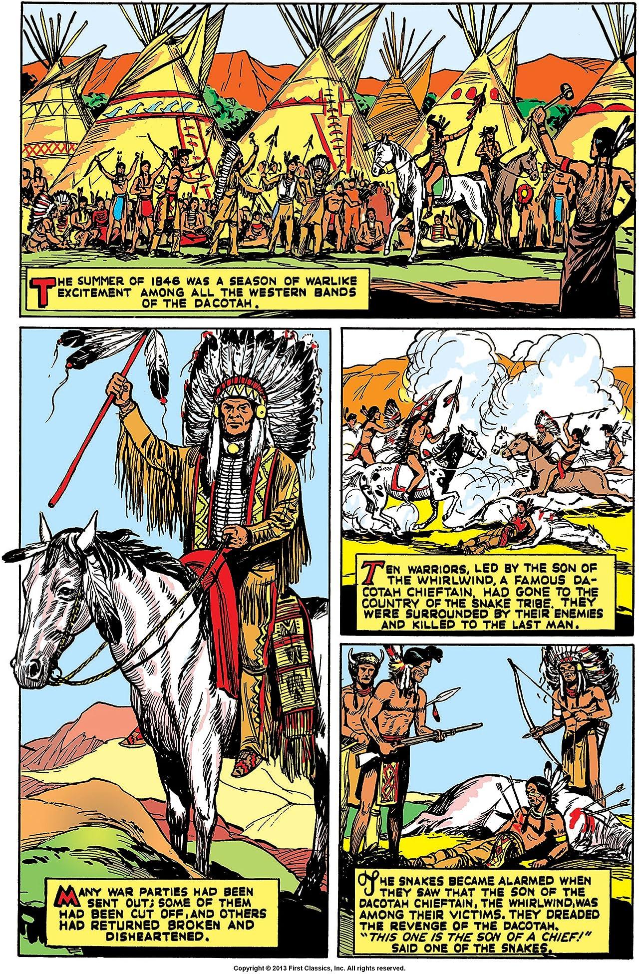 Classics Illustrated #72: The Oregon Trail