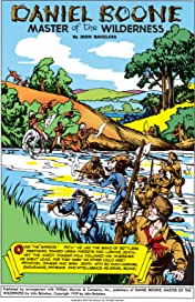 Classics Illustrated #96: Daniel Boone: Master of the Wilderness