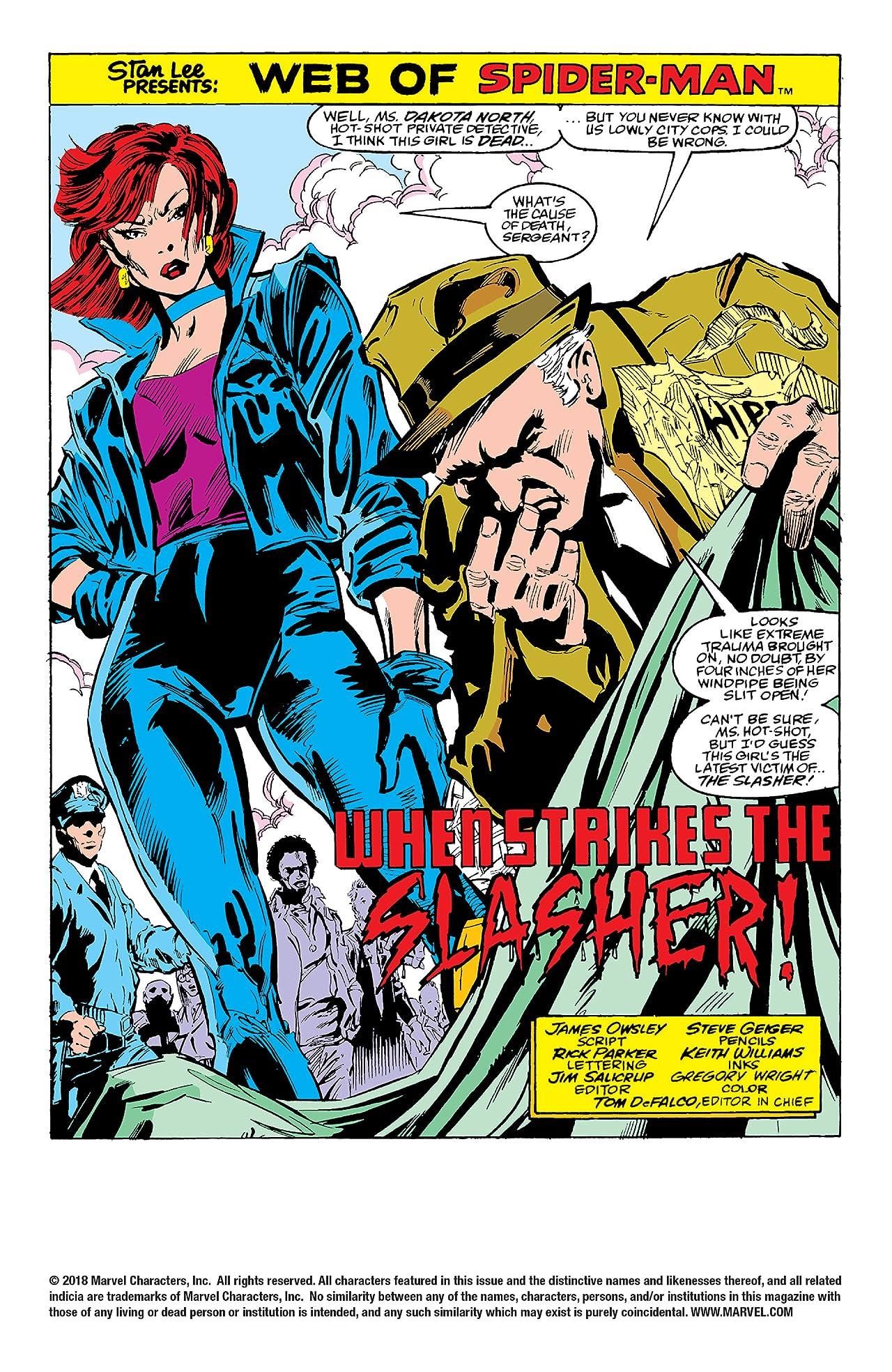 Web of Spider-Man (1985-1995) #37