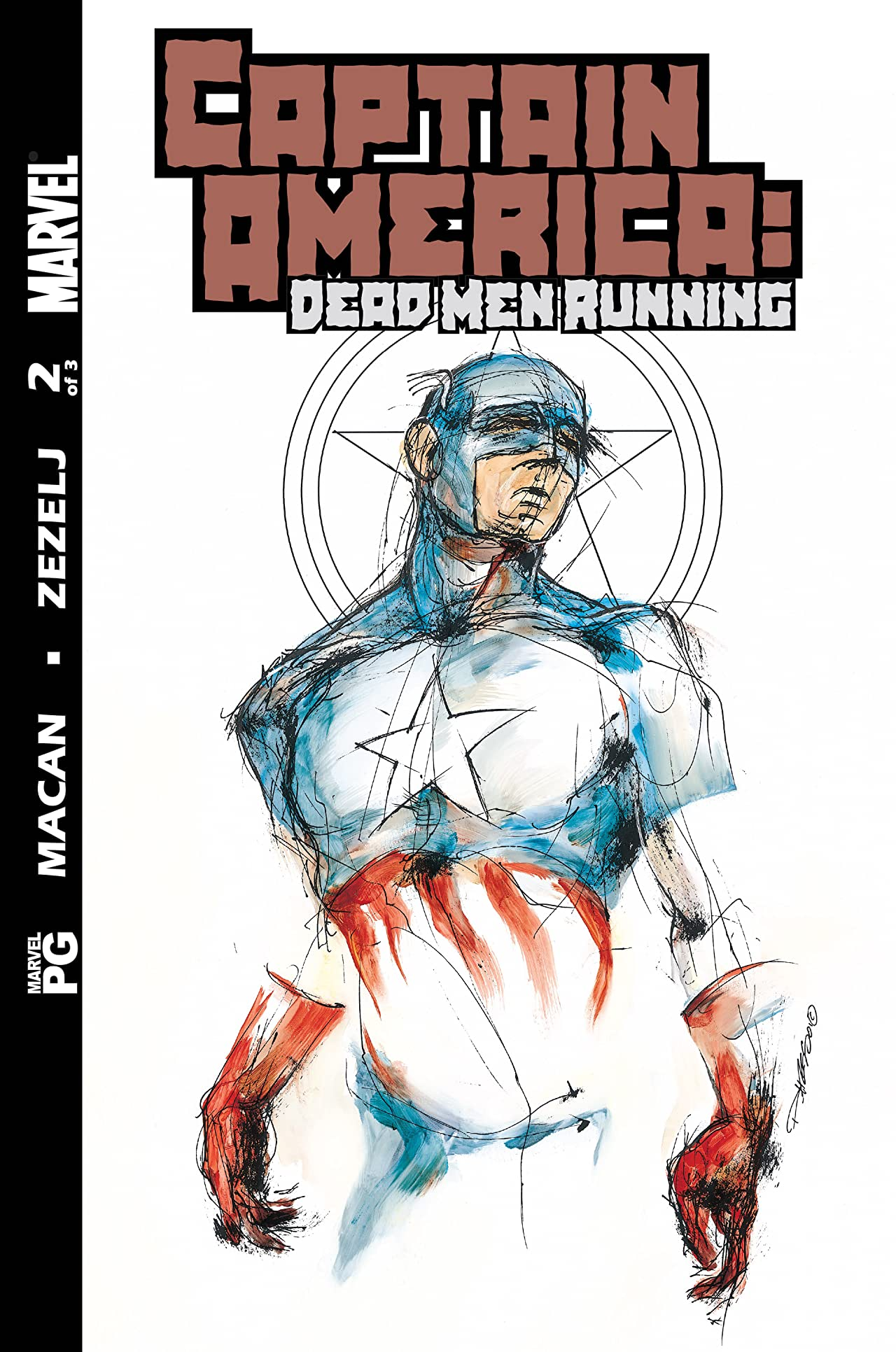 Captain America: Dead Men Running (2002) #2