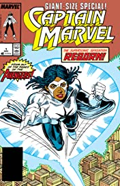 Captain Marvel (1989) #1