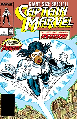 Captain Marvel (1989) #1