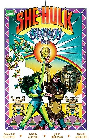 The Sensational She-Hulk: Ceremony (1989) #2