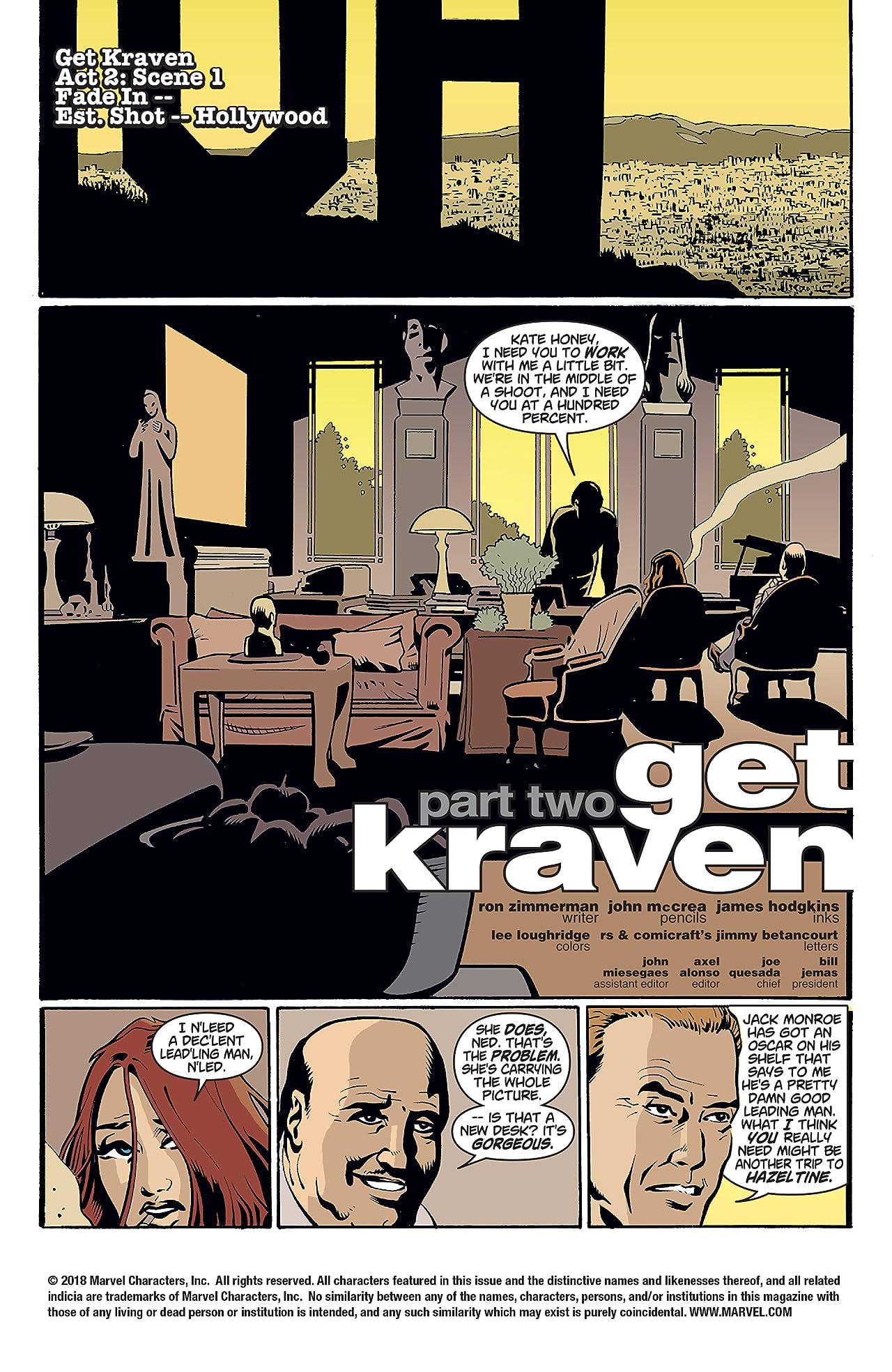 Spider-Man: Get Kraven (2002-2003) #2