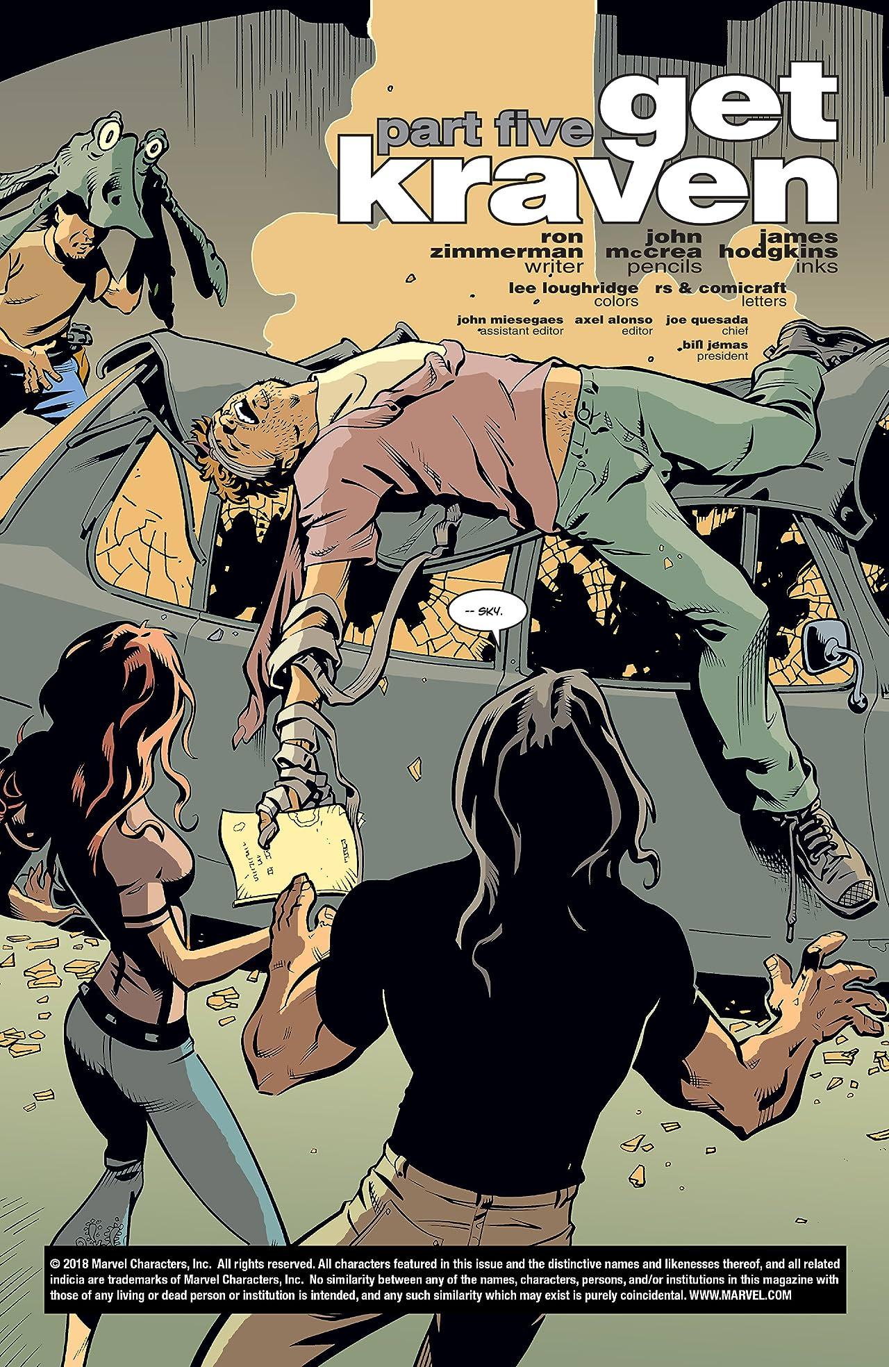 Spider-Man: Get Kraven (2002-2003) #5