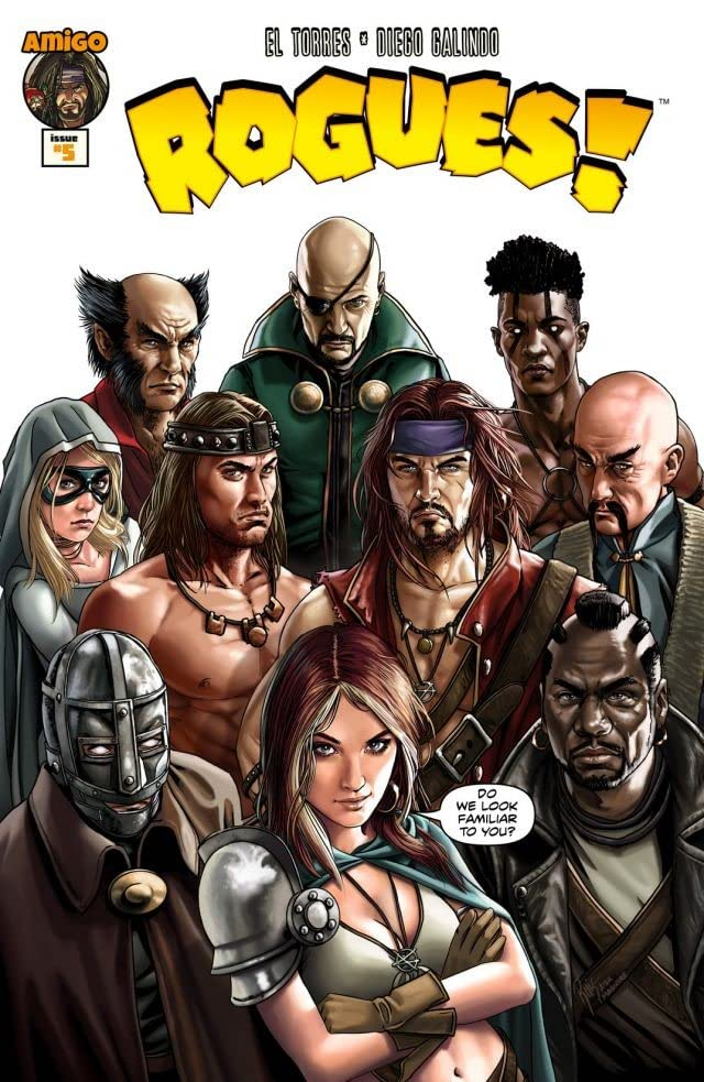 Rogues! #5