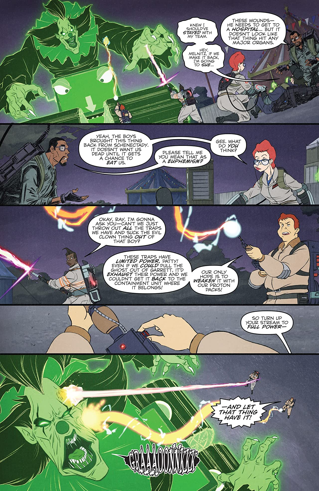 Ghostbusters: Crossing Over #6