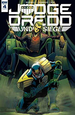 Judge Dredd: Under Siege #4 (of 4)